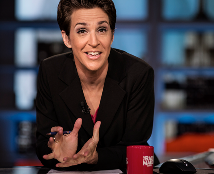 Rachel Maddow Released Trump's Tax Returns Because God Is Real & Loves America